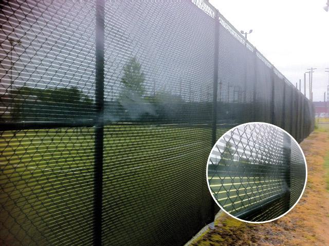 Paravent pour terrain de tennis entreprise g a turgeon for Mesure terrain de tennis